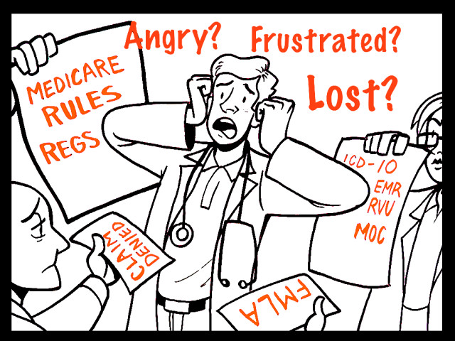 """Depressed doctor: """"I'm angry and frustrated and lost."""""""