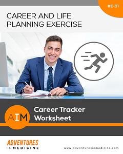 Career Tracker Worksheet | Physician Career Planning